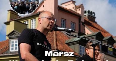 Wystąpienie prof. Marcina Urbaniaka – Marsz Wyzwolenia Zwierząt 2021 r.